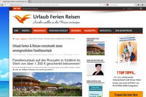 Screenshot: urlaub-ferien-reisen.com