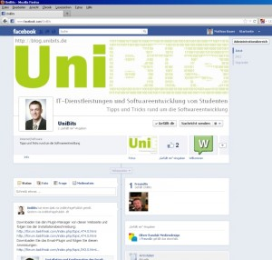 UniBits - Facebook - Fanpage