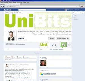 UniBits - Facebook - Fanpage