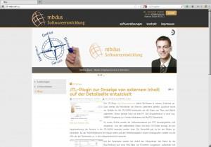 mbdus-Softwareentwicklung