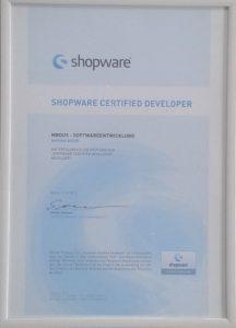Shopware Certified Developer